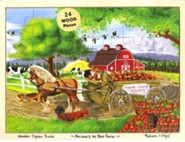 Animals on the Farm 24 Piece Jigsaw Puzzle