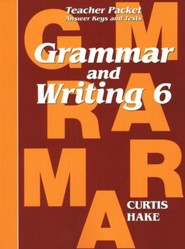 Saxon Grammar & Writing Grade 6