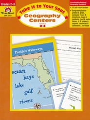 Take It to Your Seat: Geography Centers, Grade 2-3