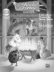 The Noel Critter Motel, A Christmas Musical for Young Voices, Bulk Listening CD (10-Pack)