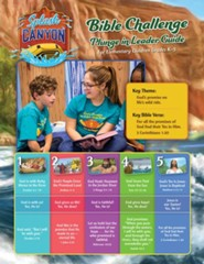 Splash Canyon: Plunge In Bible Challenge Guide CD