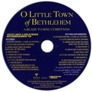 Ready to Sing: O Little Town of Bethlehem (Split-Track Accompaniment)