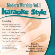 Modern Worship, Volume 1, Karaoke Style CD