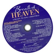 Breath of Heaven: A Ready to Sing Christmas,  Split-Track Accompaniment CD