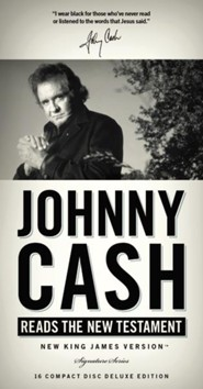 Johnny Cash Reading The Complete New Testament  [Download] -     Narrated By: Johnny Cash
