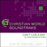 Can't Live A Day [Music Download]