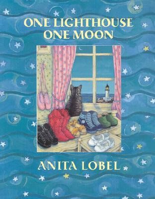 One Lighthouse, One Moon  -     By: Anita Lobel     Illustrated By: Anita Lobel