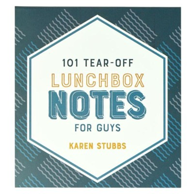 101 Tear-Off Lunchbox Notes For Guys  -