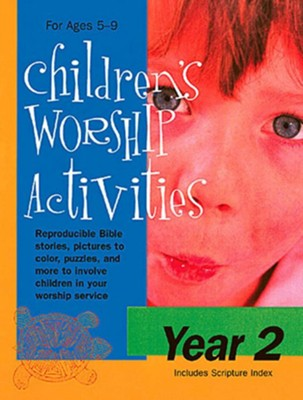 Children's Worship Activities Year 2  -     By: Virginia Kessen
