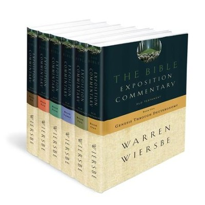 The Bible Exposition Commentary, 6 Volumes   -     By: Warren W. Wiersbe