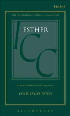 Esther, International Critical Commentary   -     By: L.B. Paton