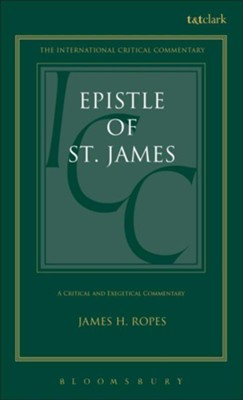 St. James, International Critical Commentary   -     By: J.H. Ropes
