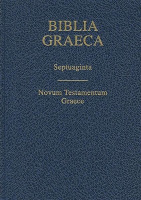 Biblia Graeca- Septuagint, Cloth, Blue  -     By: Alfred Rahlfs