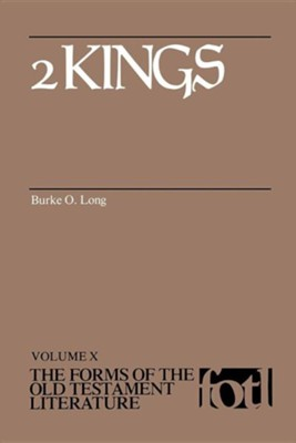 2 Kings: Forms of the Old Testament Literature (FOTL)   -     By: Burke Long