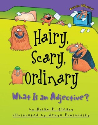 Hairy, Scary, Ordinary: What is an Adjective?  -     By: Brian P. Cleary     Illustrated By: Jenya Prosmitsky