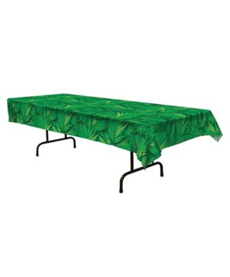 Passport to Peru VBS: Palm Leaf Table Cover (54 inchs x 108 inches)   -