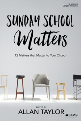 Sunday School Matters, DVD Leader Kit  -     By: Allan Taylor