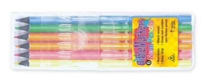 Bible Markers: Neon Pencils  -     By: Christian Art Gifts