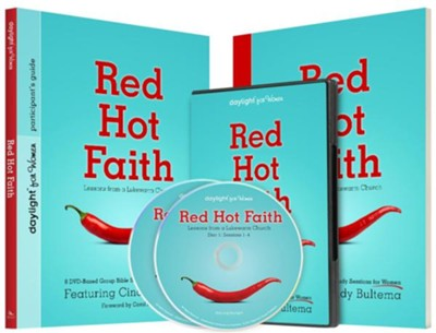 Red Hot Faith Set: Lessons from a Lukewarm Church DVD-Based Bible Study for Women  -     By: Cindy Bultema