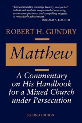 Matthew   -     By: Robert Gundry