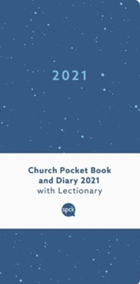 2021 Church Pocket Book and Diary, Blue Sea  -