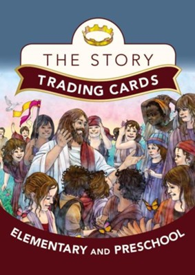 Story Trading Cards for Elementary and Preschool  -