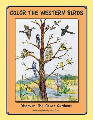 Color the Western Birds: Discover the Great Outdoors  -     By: Mary Pruett(ILLUS)     Illustrated By: Mary Pruett