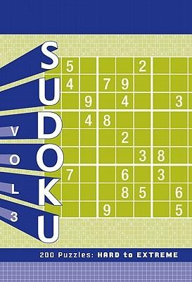 Sudoku, Volume 3: 200 Puzzles: Hard to Extreme  -     By: Chronicle Books