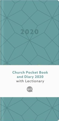 2020 Church Pocket Book and Diary, Geo Teal  -