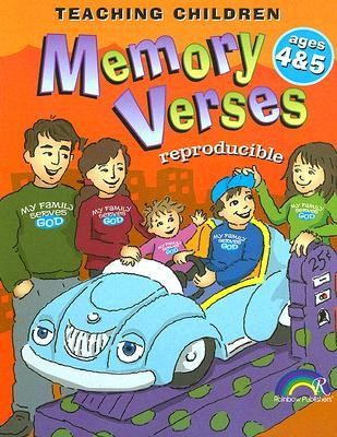 Teaching Children Memory Verses, Ages 4&5   -     By: Mary J. Davis