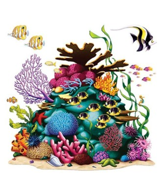 Shipwrecked: Coral Reef Prop (5' 3&#034 x 5' 3&#034)  -