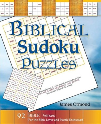 Biblical Sudoku Puzzles  -     By: James Ormond
