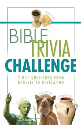 Bible Trivia Challenge, Large Print  -     By: Conover Swofford, John Hudson Tiner