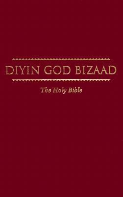 Navajo Bible Dyin God Bizaad, Paper Over Board, Burgundy  -     By: American Bible Society