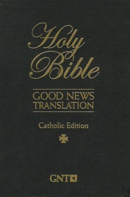 Catholic Bible-Gnt, Imitation Leather, Black, Thumb Index  -