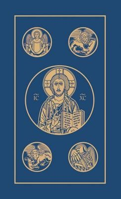RSV Catholic New Testament with Psalms, Edition 2, Paper, Blue  -