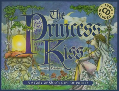 The Princess and the Kiss with Audio CD   -     By: Jennie Bishop
