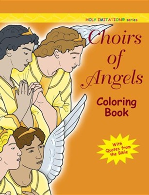 Choir of Angels Coloring Book  -     By: Katherine Sotnik(ILLUS)     Illustrated By: Katherine Sotnik