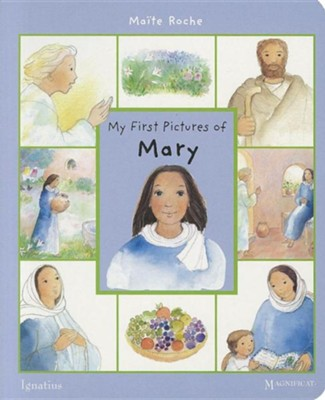 My First Pictures of Mary  -     By: Maite Roche
