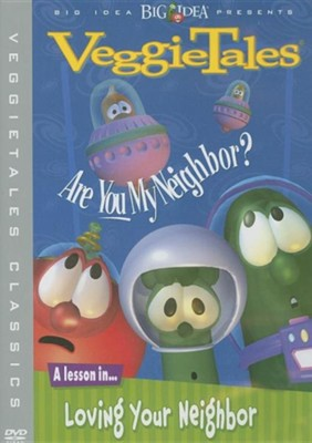 Are You My Neighbor? Classic VeggieTales DVD, Reissued   -