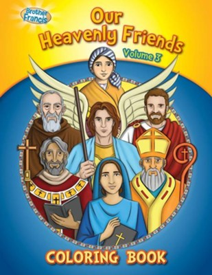 Coloring Book: Our Heavenly Friends V3  -     By: Media Casscom