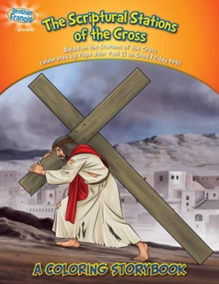 Coloring Book: The Scriptural Stations of the Cross  -     By: Media Casscom