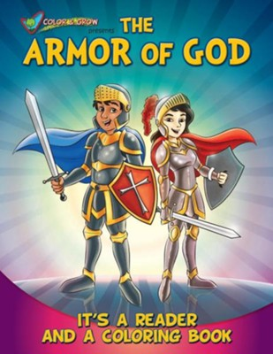Coloring Book: Color and Grow Presents the Armor of God  -     By: Media Casscom