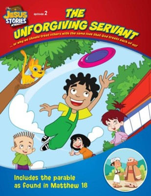 Coloring Book: The Jesus Stories, Vol1 - Ep. 02: The Unforgiving Servant  -     By: Media Casscom