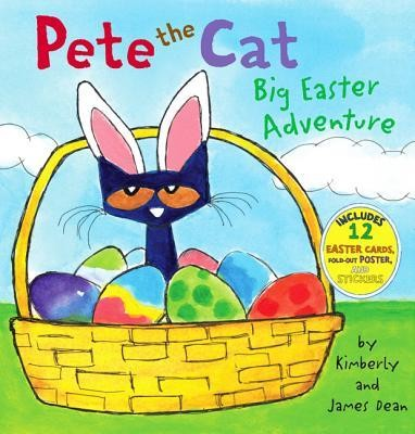 Pete the Cat: Big Easter Adventure  -     By: James Dean, Kimberly Dean     Illustrated By: James Dean