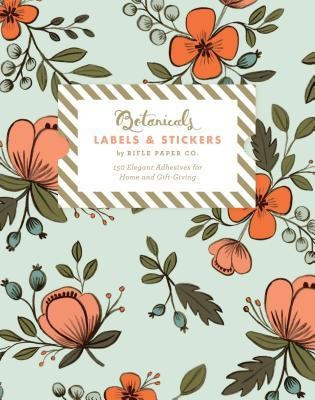 Botanicals Labels & Stickers: 150 Elegant Adhesives for Home and Gift-Giving  -