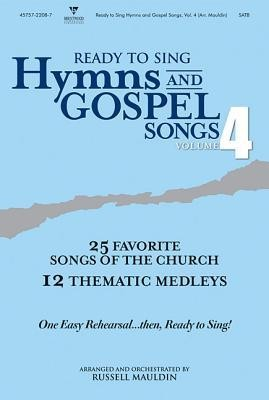 Ready to Sing Hymns and Gospel Songs V4 CD Preview Pack  -     By: Russell Mauldin