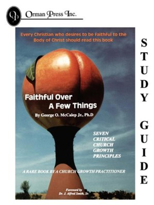 Faithful Over a Few Things Study Guide  -     By: George O. McCalep Jr.