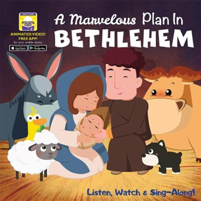My First Video Book: A Marvelous Plan in Bethlehem  -     By: Karen Mitzo Hilderbrand, Kim Mitzo Thompson
