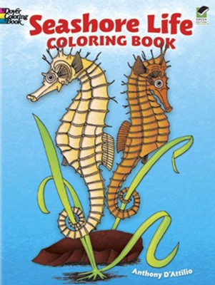 Seashore Life Coloring Book  -     By: Anthony D'Attilio